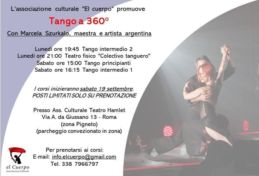 Locandina tango Hamlet sttembre 2020
