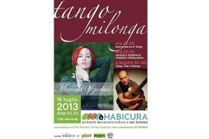 marcela szurkalo con federico ferrandina voce chitarra tango habicura